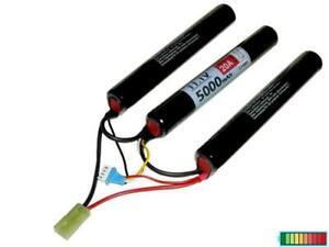 Li-ion Akku Crane Stock 3S2P 11.1V5000mAh, geeignet für Airsoft Modelle...