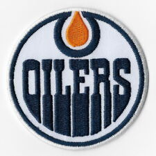 NHL Edmonton Oilers Iron on Patches Embroidered Patch Applique Badge Sew Emblem