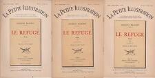 La petite illustration Roman - Le refuge de Jacques Baschet - 1922