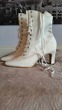 High Heel (3-4.5 in.) Lace-up Bridal Shoes