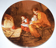 Vtg Langenthal 8th Plate AT THE GRANDPARENTS Anker Heritage Collection COA/Box