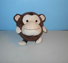 "Five Below Backyard Buddies Brown Monkey Buddy - 10"" Stuffed Plush Animal Ball"