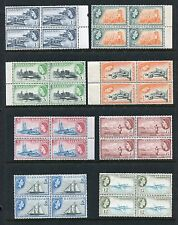 Barbados 235-247 MNH Definitive 1953-1957 QE II Dover Fort Sugar cane x27513