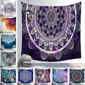 Boho Mandala Geometric Tapestry Wall Hanging Decor Yoga Mat Bedspread Throw