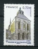 France 2017 MNH Saint-Benoit-sur-Loire Abbey 1v Set Churches Architecture Stamps