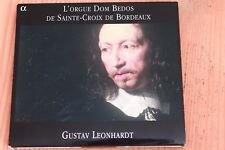 Orgue Dom Bedos Ste Croix Bordeaux - Blow Muffat Fisher - Leonhardt - CD Alpha