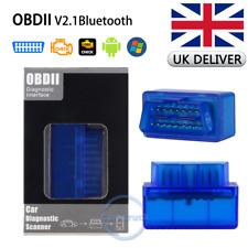 ELM327 V2.1 OBD2 Bluetooth Scanner OBDII Car Diagnostic Interface For Android UK