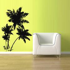 Wall Vinyl Sticker Kids Decal Palm Tree Beach Vacation Ocean Sea Sun (Z2689)