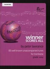 Libro ganador indicador llena las Lawrance trombón y CD