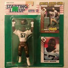 RICKEY JACKSON - 1993 Starting Lineup - SLU - NFL - NO Saints