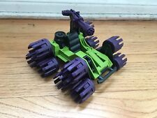 GI JOE SWAMPMASHER 1988 VEHICLE VINTAGE COBRA TANK WEAPON RETRO CAR