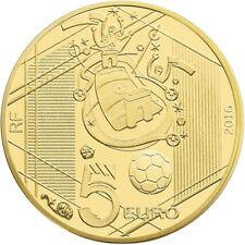 EUR, France, Monnaie de Paris, 5 Euro, UEFA Euro 2016, Reprise, 2016 #98194