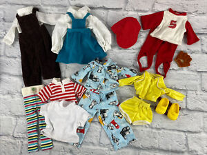 Fisher Price My Friend Doll Outfits Clothing Lot Handmade Skates Baseball