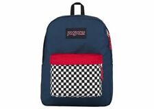 Jansport Backpack Superbreak Finish Line Navy Black Label Skate Travel Bag