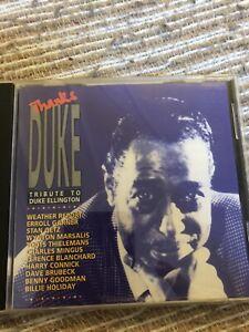 Thanks Duke Tribute To Duke Ellington CD Weather Report