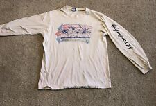Rare Vintage 1984 LA Olympics LEVI Strauss & Co US Cycling Graphic Shirt