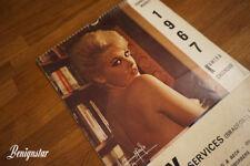 Vintage Harrison Marks Kamera Calendar 1967 Garage Pin Up