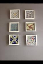 Salvador Dali 6 Original Keramik Fliesen Kachel 1954 Ceramic Tile Art Kunst
