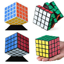 Ultra-smooth Shengshou 4x4x4 Magic Cube Black Speed Spring Twist Puzzle Toy Gift