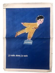 Affiche Air France Signee SAVIGNAC