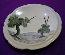 Vintage BLACK BOYS Pin Dish PLATE Hand painted Australia - Gold Gilt