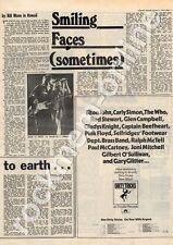 Dirty Tricks Argent Cardiff University MM5 LP/Tour Advert Faces Interview 1975