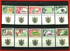 PITCAIRN 75TH ANNIVERSARY COMPLETE ARMS SET (10v) MNH