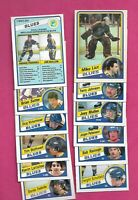 1984-85 OPC ST LOUIS BLUES EX-MT/ NRMT-MT  CARD LOT(INV# D2010)
