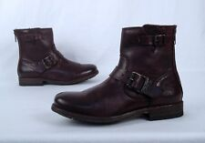 NEW!! Frye Moto Biker Boot- Brown- Size 6 B   (B12)
