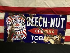 Beech Nut gum sign ....large 18 inches