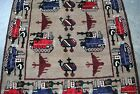 WAR RUG HAND MADE BY AFGHAN TRIBES IN MEMORY OF SOVIET UNION WAR