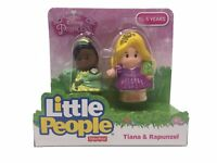 Fisher-Price Little People Disney Princesses 2 Pk - Tiana & Rapunzel