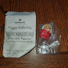 Hallmark Merry Miniature 1994 Puppy In Stocking
