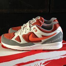 Nike Air SPAN II Size UK8,5 , EU43 Platinum/Red