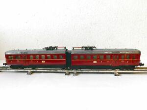 """FLEISCHMANN, ein noch sehr gut erhaltener TRIEBWAGEN """"E 370"""" (815a) 1950er Jahre"""