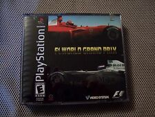 F1 World Grand Prix (Sony PlayStation 1, 2001)  COMPLETE