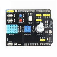 DHT11 LM35 Temperature Board Adapter For Arduino UNO R3 RGB Humidity Expansion