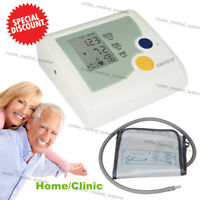 CONTEC Digital Upper Arm Blood Pressure Monitor LCD Machine with Adult NIBP Cuff