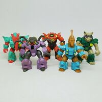 Vintage Battle Beasts Lot 1986 Hasbro Anteater Raccoon Crab Spider Seahorse