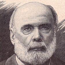 Portrait XIXe Jules Grévy Mont-sous-Vaudrey Président de la République Française