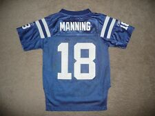 INDIANAPOLIS COLTS FOOTBALL JERSEY PEYTON MANNING NFL REEBOK YOUTH SMALL (8)