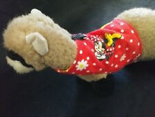 Ferret Harness - Minnie Mouse Soft Flannel - S/M