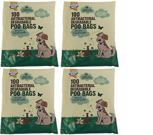 Good Boy Antibacterial Degradable Poo Bags With VANILLA SCENT 4 x 100 per