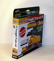 Kato 1066272 N Scale F7 Freight Train Set, Union Pacific. 5 car set. New.