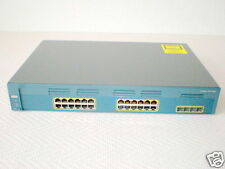 Cisco Catalyst ws-c2970g-24ts-e 4x sfp 24x GIGAB. 2970g
