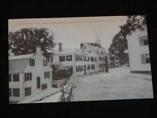 Antique Postcard - Leden Street, Plymouth, Ma. First Street In New England c1920