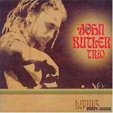 JOHN BUTLER TRIO LIVING 2001-2002 NEW CD 2 DISCS + BONUS TRACK FREE UK DELIVERY
