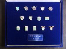 Boxset Pins Ss Lazio Logos Historical Shirts from 1900 Official Pins / 30