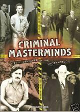 Charlotte Greig CRIMINAL MASTERMINDS pb underworld evil