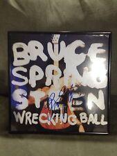 Bruce Springsteen Autograph Wrecking Ball Framed Vinyl Album PSA/DNA Cert. Boss